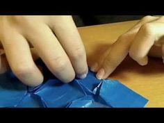 Origami Hydrangea (Fujimoto) Tutorial PART 2 - YouTube