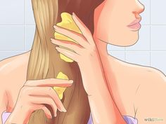 Apply the remainder of your potion to the rest of your hair. Make sure to coat your entire scalp on through to your ends. However, the most important part is your scalp, as that is where the root is stimulated to grow. Once you think you're done, go at it for another few minutes!