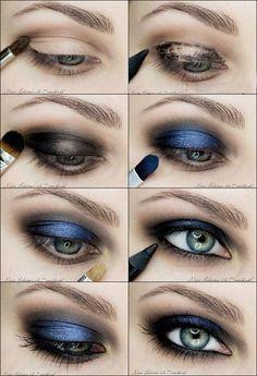 Вечерний макияж для цветотипа зима пошагово