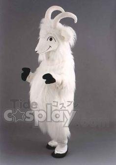 New Goat Costume Mascot $320.00 http://www.tidecosplay.com/cheap-New-Goat-Costume-Mascot_p18280.html