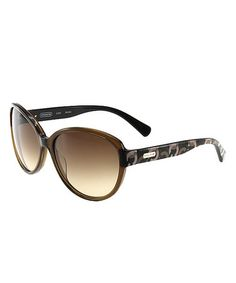 26e1fcdf2d79 Take a look at this Coach Brown Swirl Sunglasses by Coach Sunglasses &  Opticals on