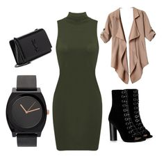 """Basics."" by dantzlerjazmin on Polyvore featuring Barbara Bui and Yves Saint Laurent"