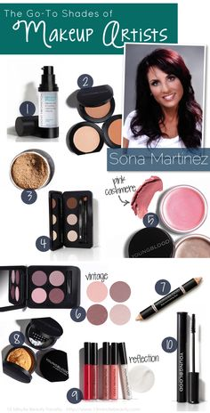 15 Minute Beauty Fanatic: The Favorite Shades of Makeup Artists: Sona Martinez