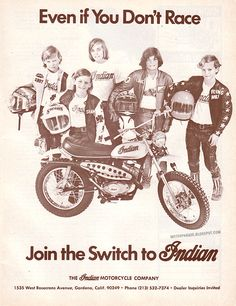 MotorParade: INDIAN SWITCH