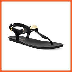 Michael Michael Kors Women's Plate Jelly Sandal,Black,11 M US - Sandals for women (*Amazon Partner-Link)