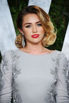 celebrity vintage hairstyle