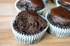 Muffins au chocolat sans farine, aux protéines de chanvre | Fitnessfriandises.fr
