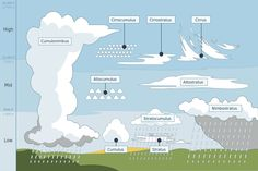Wayfinders use clouds to predict weather when navigating. Here are some descriptions of cloud formations and what they might mean for navigators