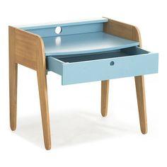 Vintage Petit bureau vintage BLEU pour enfant