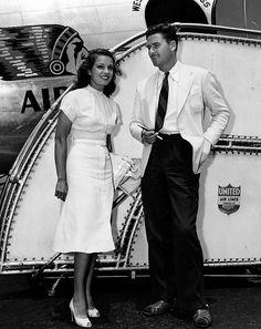Errol Flynn and Lili Damita, 1938