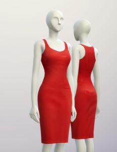 Basic pencil dress 2 at Rusty Nail • Sims 4 Updates