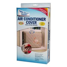 Product Image for Twin Draft Guard Air Conditioner Cover 1 out of 4