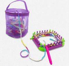 FREE SHIPPING high quality New mesh bag Hollow DIY hand weaving tools Yarn bag Crochet thread storage