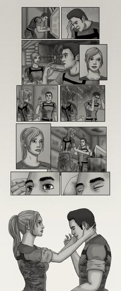 Mass Effect Fluff: Headache by JulianneKnight on DeviantArt