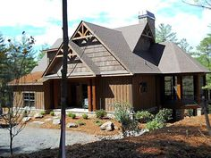 exterior pictures of rustic craftman style homes | Rustic Mountain House Plan | Rustic Mountain Design by Max Fulbright
