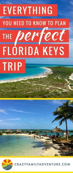 Everything you need to know to plan the perfect Florida Keys vacation. The best beaches, things to do, campgrounds and resorts. The Florida Keys are a perfect road trip to take with kids and if you want you can do it on a budget too - beaches are free! Visit Florida, Florida Vacation, Florida Travel, Travel Usa, Florida Resorts, The Florida Keys, Kaui Vacation, Florida Girl, Destin Florida