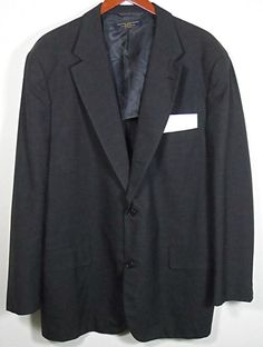 Brooks Brothers Suit Jacket Mens Size 44W 2 Button Gray Wool Blend  #Shopping #Style #Fashion http://www.ebay.com/itm/Brooks-Brothers-Suit-Jacket-Mens-Size-44W-2-Button-Gray-Wool-Blend-/281426811182?roken=cUgayN via @eBay