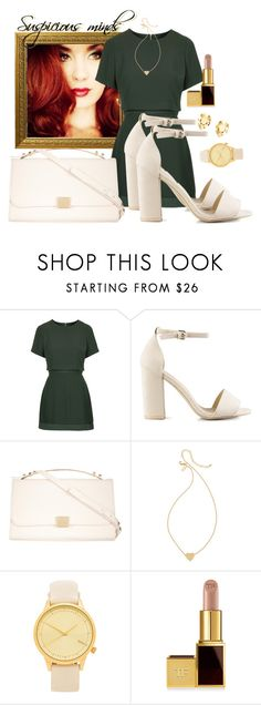 """suspicious minds"" by elisinhahalliwell ❤ liked on Polyvore featuring beauty, Topshop, Nly Shoes, ZALORA, Kate Spade, Komono, Tom Ford, Elsa Peretti and Lana"