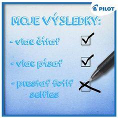 Aké sú tvoje doterajšie výsledky sú #pilotpen #happywriting