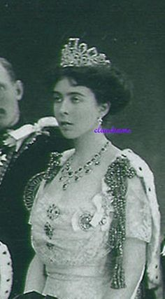 Queen Sophia of Sweden also loaned the emerald tiara to Crown Princess Margaret, nee Connaught, for the Coronation in 1911 of King George V