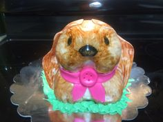 Lop eared Easter bunny/Easter puppy cake