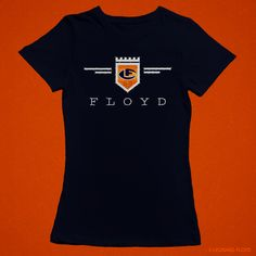 Leonard Floyd© Official Logo Glitter Tees 100% Cotton Ladies Fitted Tee High Intensity Glitter Graphic #floyd #glitter #logo Leonard Floyd, Chicago Bears, Glitter, Logos, Tees, Lady, Cotton, Women, Fashion