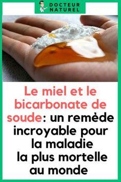 Voici pourquoi vous devez boire du miel et bicarbonate de soude #miel #bicarbonate #remede #naturel #santé Social Well Being, Miracle Morning, Crps, Anti Cellulite, Cancer, Nutrition, Health, Medical, Vegan