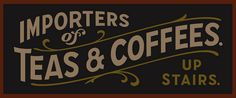 Teas & Coffees by NutmeggerWorkshop, via Flickr