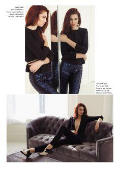 Fashion and Beauty Jennifer Dickinson