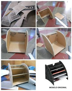 Posible forma de entrega del proyecto, por la similitud del archivador con los escaparates de las panaderías.