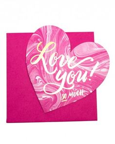 Remember opening up your shoebox full of valentines in elementary school? This oversized love note reminds us of those days. Be sure to save one for the cutie at the desk next to you! My Funny Valentine, Valentine Day Love, Valentine Ideas, Valentine Cards, I Love My Hubby, Love You, Valentine's Day Printables, Heart Cards, Love Notes