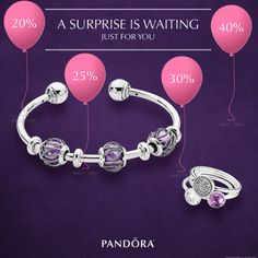 Today is the last day to take advantage of Pandora discounts up to 40%. Spend $125 on Pandora Jewelry and receive a Peel & Reveal card for a special discount on your Pandora purchase. Visit store for details. Offer ends today. Open 10am to 8pm. #MiamiLakesJewelers #Pandorajewelry @MiamiLakesJewelers