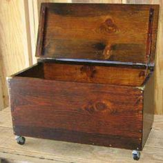 Firewood storage box w/wheels