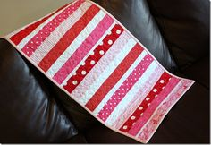Striped Table Runner...i think so!