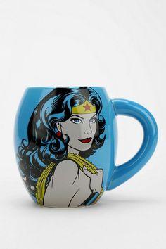 Wonder Woman Mug #urbanoutfitters