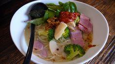 春野菜と筍の浅蜊そば@麺場浜虎(横浜)