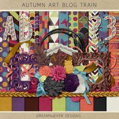Oct 2014 Blog Train: Final List   Pixel Scrapper digital scrapbooking forums