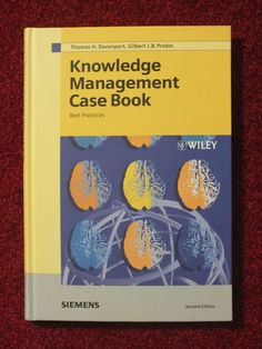 Knowledge Management Case Book von Gilbert J. B. Probst, Thomas H. Davenport
