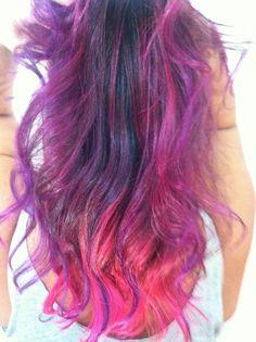 A saga do cabelo rosa rsss - A perfeição
