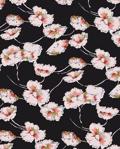Oriental Vintage Florals by Marisa Hopkins | marisahopkins.com