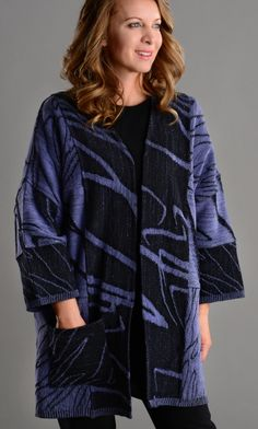 Chris Triola - Garments, beautiful knit jackets, vests, and sweaters!