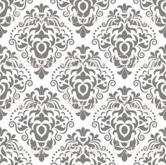 Classic Victorian Floral Damask Decorative Stencil MULTIPLE SIZES AVAILABLE on Industry Standard 10 Mil Mylar Design 129222596 on Etsy, $12.95