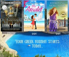 Escape to sunny Greece! #bargains #FREE #99cents Visit Amazon. Offers expire soon!
