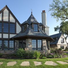plan 17788lv: marvelous tudor house plan | the roof, house plans