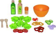 Amazon.com: Hape - Playfully Delicious - Garden Salad - Play Set: Toys & Games