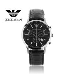 17a80e1bf1f9 Franchising Original EA GA Armani Onsale AR2447 Quartz Men wristwatch with original  box certificate Freeshipping