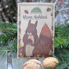 Hochwertige Leckerei für Eichhörnchen Illustrator, Cover, Books, Art, Small Meals, Deco, Art Background, Libros, Book