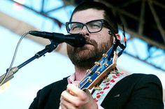 The Decemberists lead singer Colin Meloy wearing Claire Goldsmith Glasses - 'Watson' #thedecemberists #clairegoldsmith #watson #eyewear