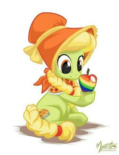 Granny Smith...what if in the next mlp thing it will be the same style of ponies but they follow the background ponies