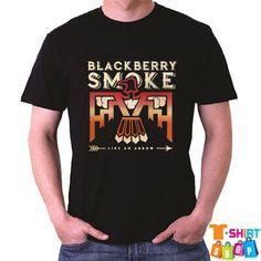 Blackberry Smoke Like An Arrow Country Rock Band Mens Black T-Shirt Size S-3XL